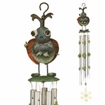 Green Beetle Wind Chime
