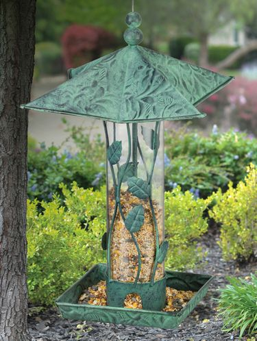 Green Branches Bird Feeder - Click to enlarge
