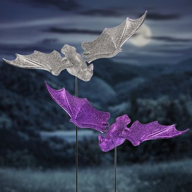 Halloween Bats Garden Stakes (Set of 6) - Click to enlarge