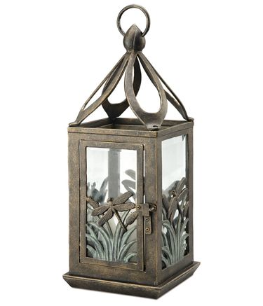 Hanging Dragonfly Candle Lantern - Click to enlarge