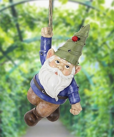 Hanging Garden Gnome - Click to enlarge