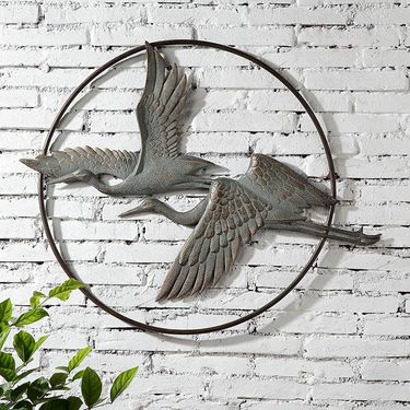 Herons in Flight Wall Art - Click to enlarge