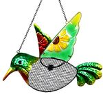 Hummingbird Mesh Wild Bird Seed Feeder