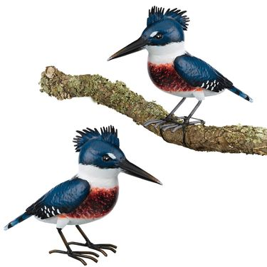Kingfisher Tree Branch Decor (Set of 2) - Click to enlarge