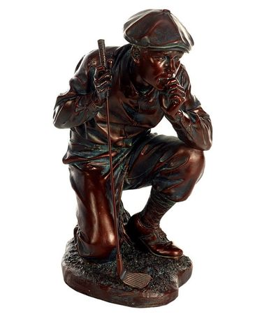 Contemplative Golfer Statue - Click to enlarge