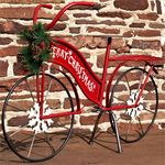 Large Christmas Bicycle Decor