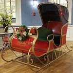 "NEW Large Christmas Sleigh ""PHILADELPHIA v2.0"""