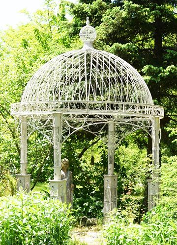 Large Iron Garden Gazebo