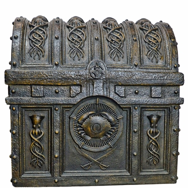 Large Nautical Treasure Chest - Click to enlarge