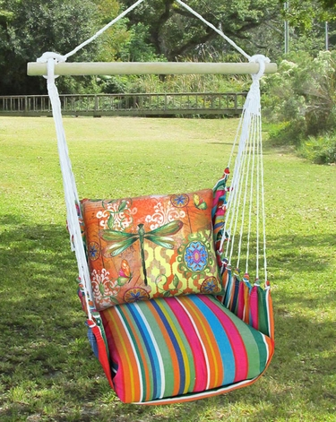 Le Jardin Dragonfly Flight Hammock Chair Swing Set - Click to enlarge