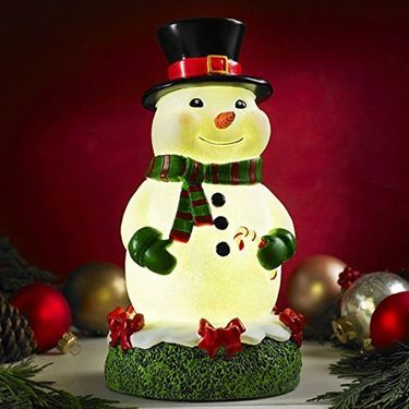 Glow Anywhere LED Christmas Snowman - Click to enlarge