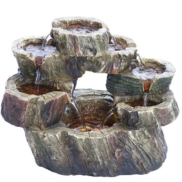 Flowing Falls Tabletop LED Fountain - Click to enlarge