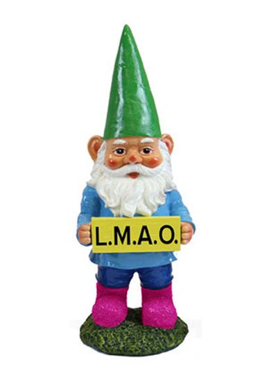 LMAO Gnome Garden Statue - Click to enlarge