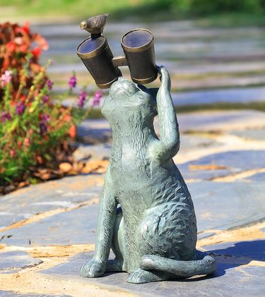 Lookout Cat Statue - Click to enlarge
