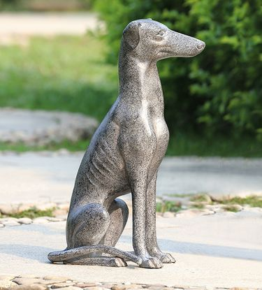 Loyal Greyhound Garden Sculpture - Click to enlarge