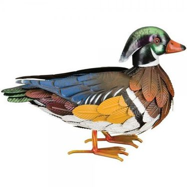Male Wood Duck Statue - Click to enlarge