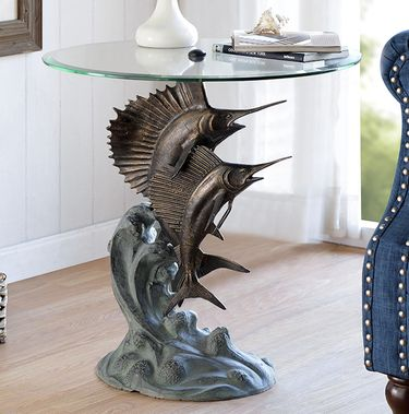 Marlin & Sailfish End Table - Click to enlarge