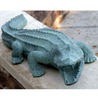 Mean Old Alligator - Aluminum - Click to enlarge