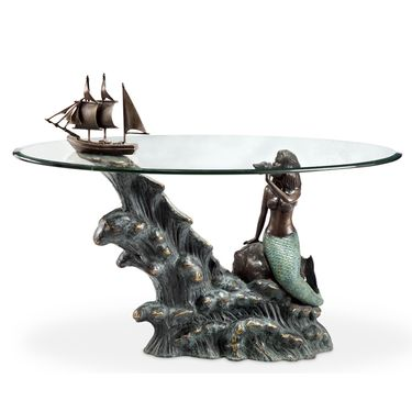 Mermaid & Schooner Coffee Table - Click to enlarge