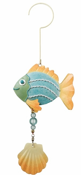 Metal Pastel Fish Twirly  - Click to enlarge