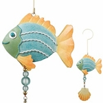 Metal Pastel Fish Twirly
