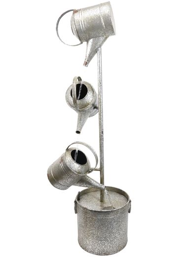 Metal Watering Can Fountain - Click to enlarge