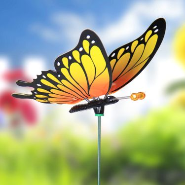 Large Monarch Butterfly Garden Stakes (Set of 6) - Click to enlarge