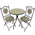 "Mosaic Bistro Set ""Chicago"""