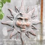 Mysterious Sun Wall Art Plaque
