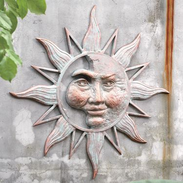 Mysterious Sun Wall Art Plaque - Click to enlarge