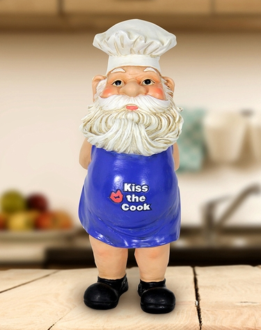 Naked Chef Gnome - Click to enlarge