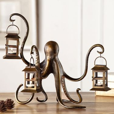 Octopus Candle Lantern - Click to enlarge
