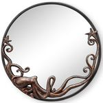 Octopus Round Wall Mirror