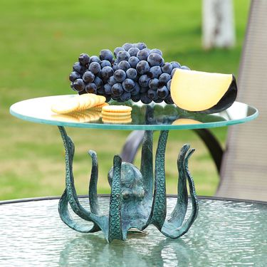 Octopus Table Server / Candleholder - Click to enlarge