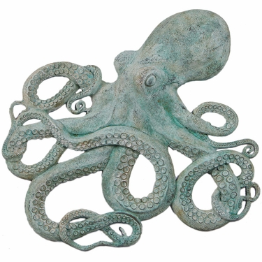 Octopus Wall Decor - Shipwreck Finish - Click to enlarge