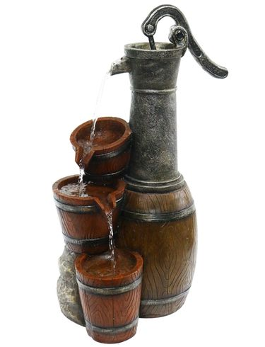 Old Style Water Pump Fountain - Click to enlarge