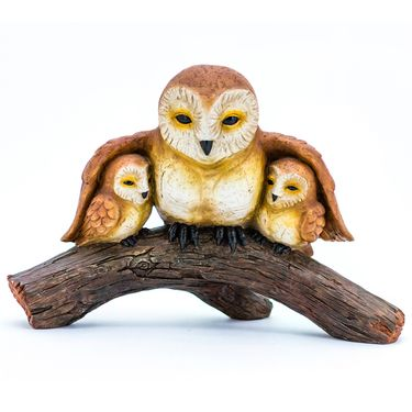 Owl Family Statue - Click to enlarge
