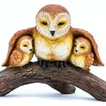 Owl Family Statue