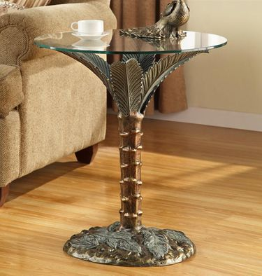 Palm Tree End Table - Click to enlarge