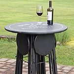 Collapsible Party Time Bistro Table