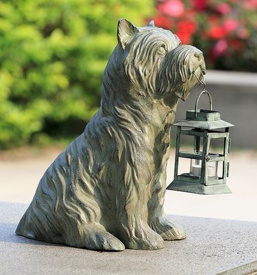 Patient Pooch Garden Lantern - Click to enlarge