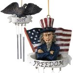 Hope and Freedom Americana Wind Chimes (Set of 2)