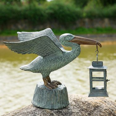 Pelican Candle Lantern - Click to enlarge