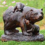 Playtime Bears Garden Sculpture