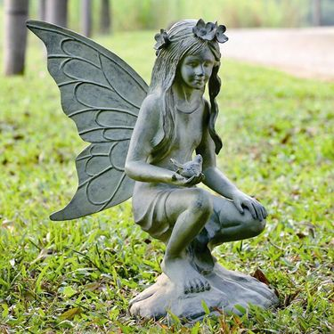 Precious Fairy Garden Sculpture - Click to enlarge