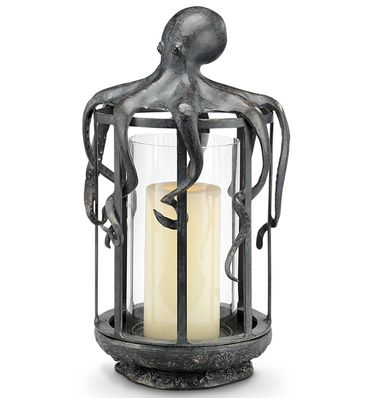 Protective Octopus Candle Lantern - Click to enlarge