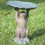 Rabbit Birdbath / Feeder