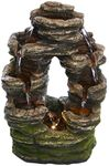 Rainforest Rock Tabletop Fountain