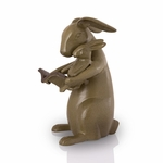Reading Rabbits Garden Sculpture