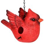 Red Cardinal Bird House